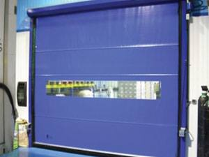 sarmal hızlı pvc brandalı kapı sistemleri