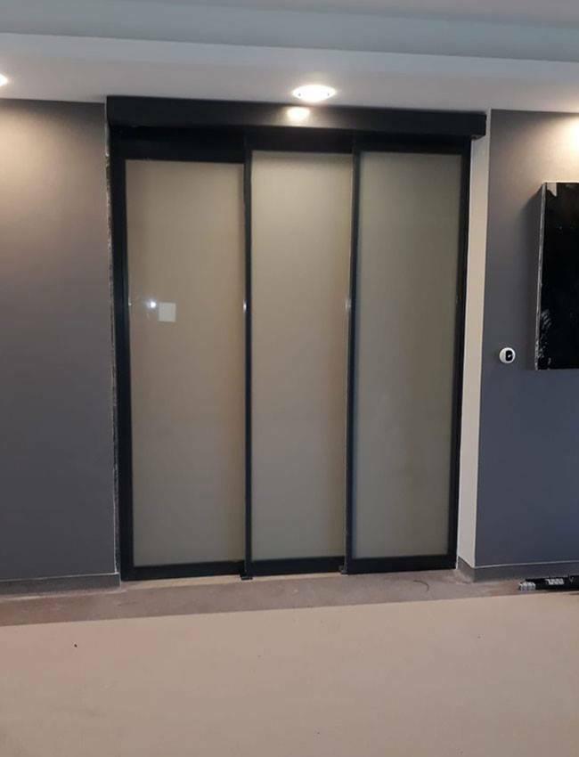 Berrak Mimarlık - Fotoselli kapı